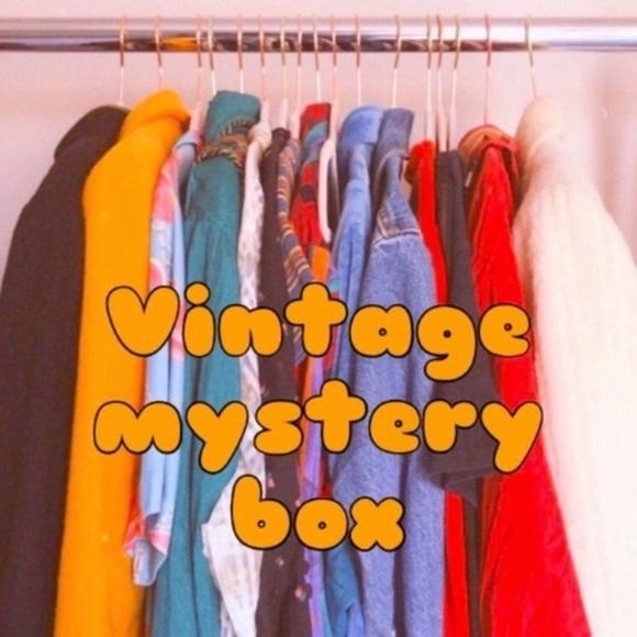 Vintage 5lb Reseller Not So Mystery Box